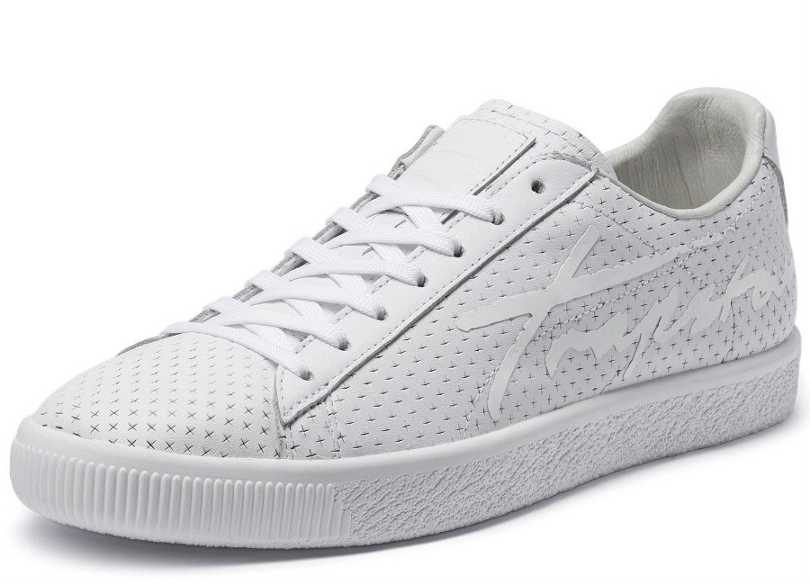 Puma X Trapstar Clyde Perforated - Puma White / Puma White