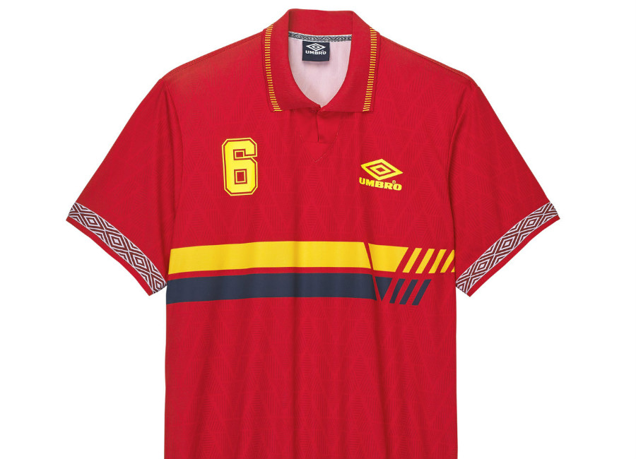 Umbro Spain Football Jersey - Spain Red