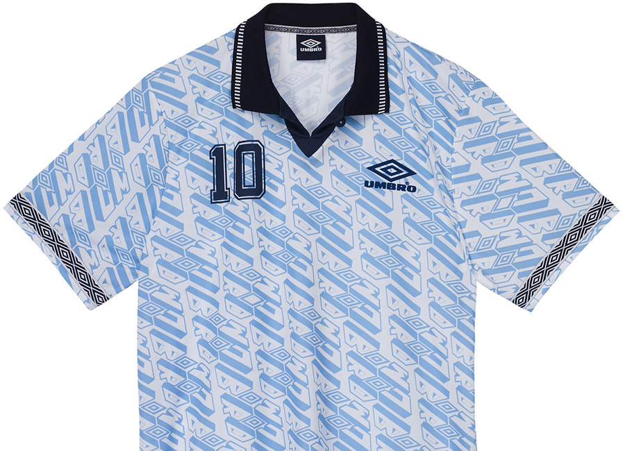Umbro Number 10 Football Shirt - Chambray