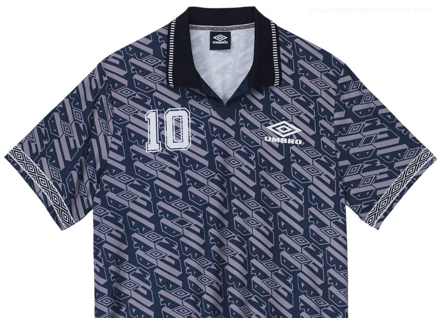 Umbro Number 10 Football Shirt - Navy
