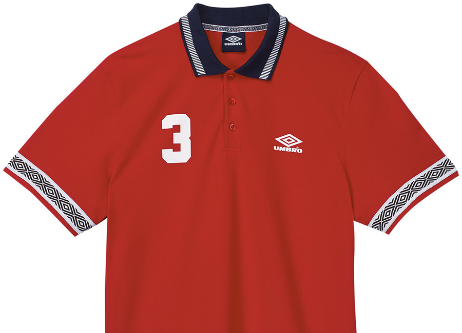 Umbro Taped Polo - Red