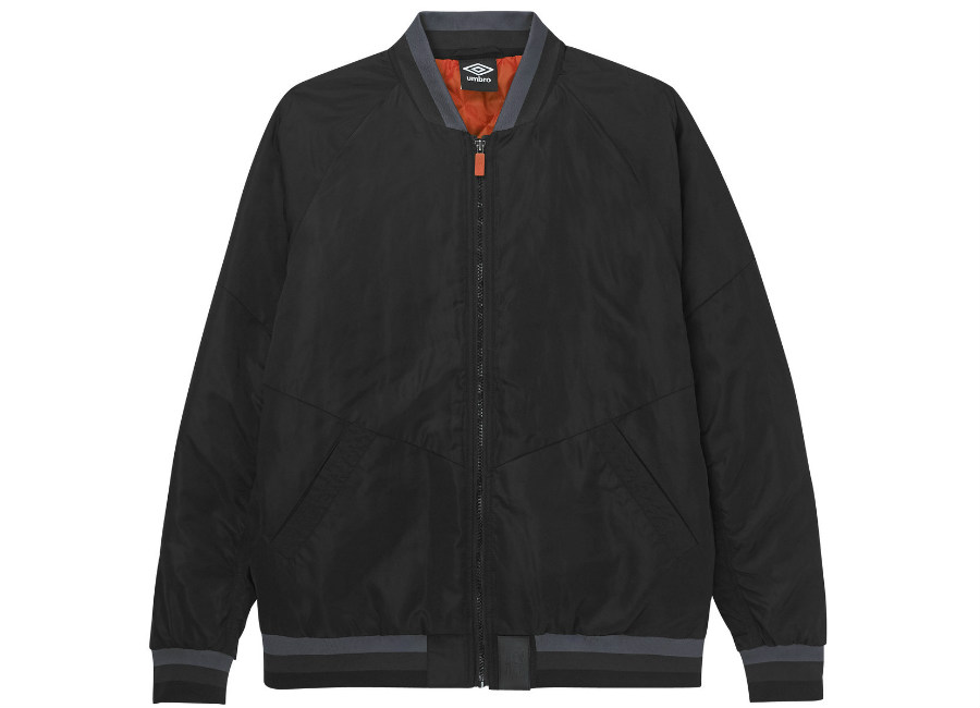 Umbro Walkout Bomber - Black / High Risk Red