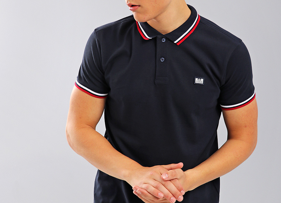 Weekend Offender Fender Polo Shirt - Navy