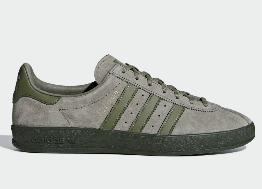 Adidas Broomfield Shoes - Trace Cargo / Raw Khaki / Night Cargo #AirdrieFC