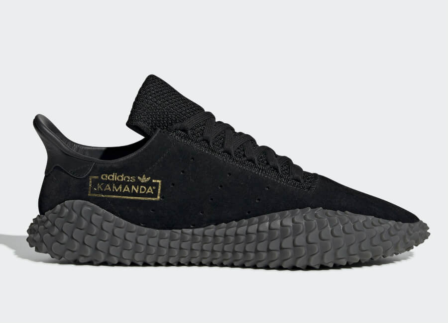 Adidas Kamanda 01 Shoes - Core Black / Core Black / Carbon