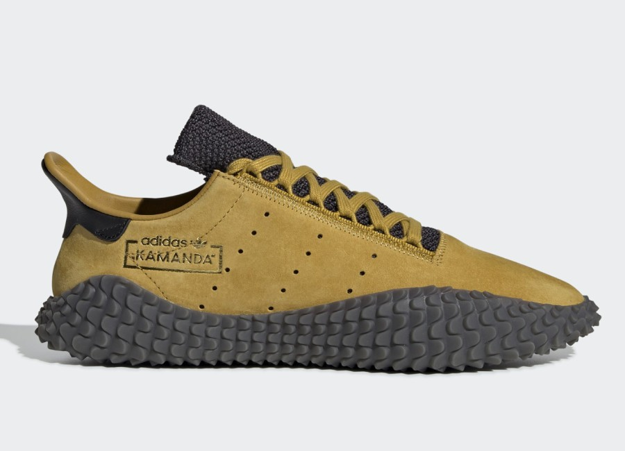 Adidas Kamanda Shoes - Raw Ochre / Raw Ochre / Carbon