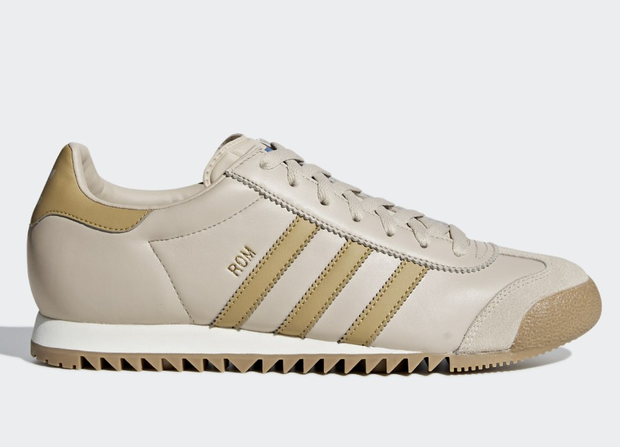 Adidas Rom Shoes - Clear Brown / Raw Sand / Gum4