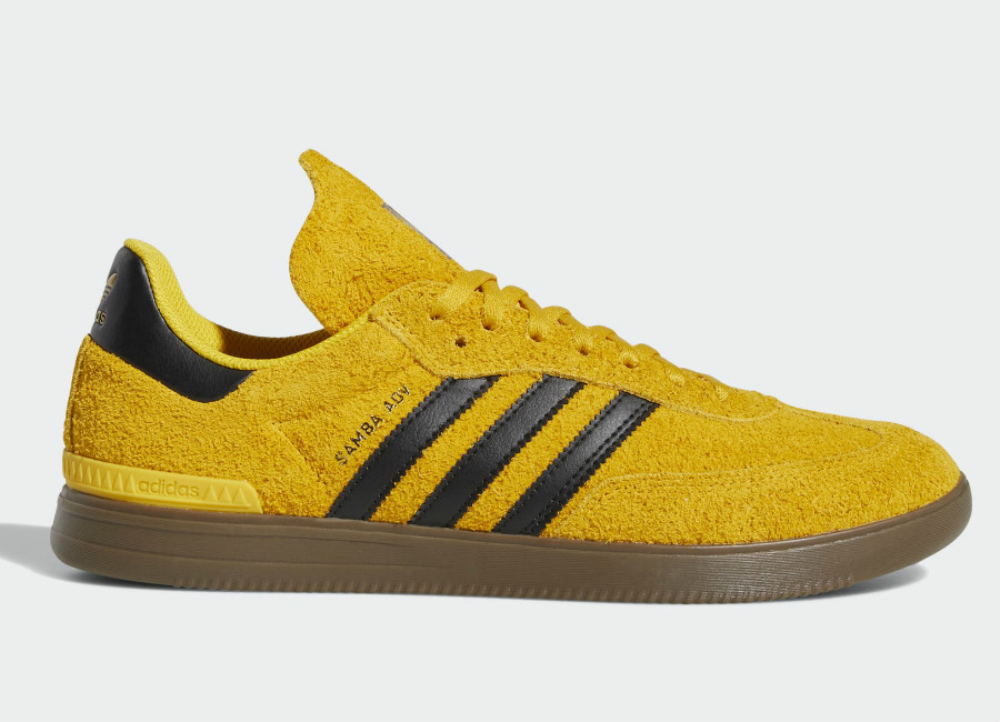 Adidas Samba ADV Shoes - Bold Gold / Core Black / Gum