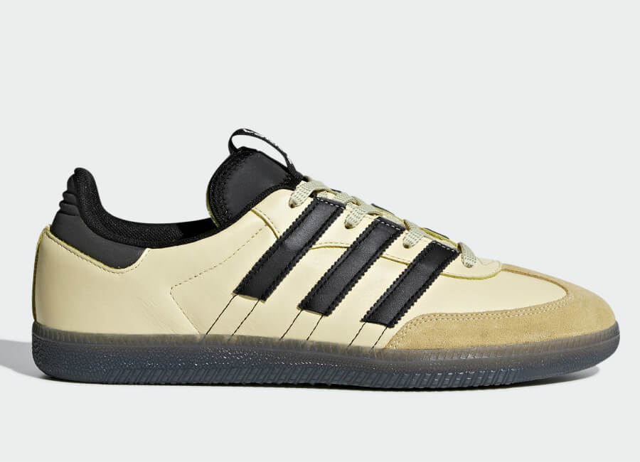 Adidas Samba OG MS Shoes - Easy Yellow / Core Black / Ftwr White