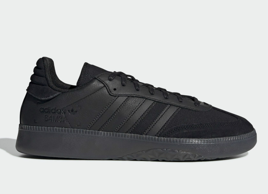 Adidas Samba RM Shoes - Core Black / Core Black / Ftwr White