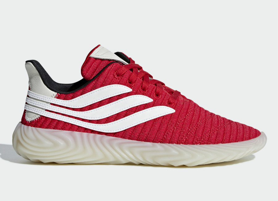Adidas Sobakov Shoes - Scarlet / Ftwr White / Core Black