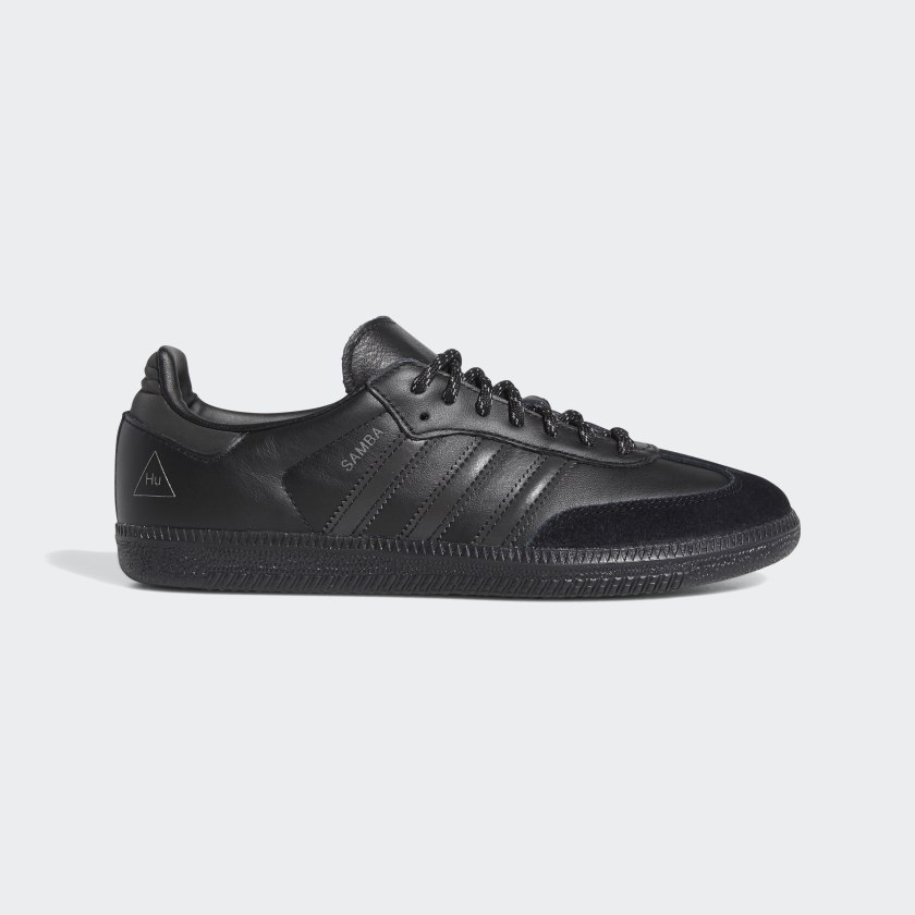 Adidas Pharrell Williams Samba - Core Black / Core Black / Core Black