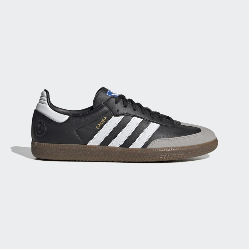 Adidas Samba Vegan - Cloud White / Core Black / Gum