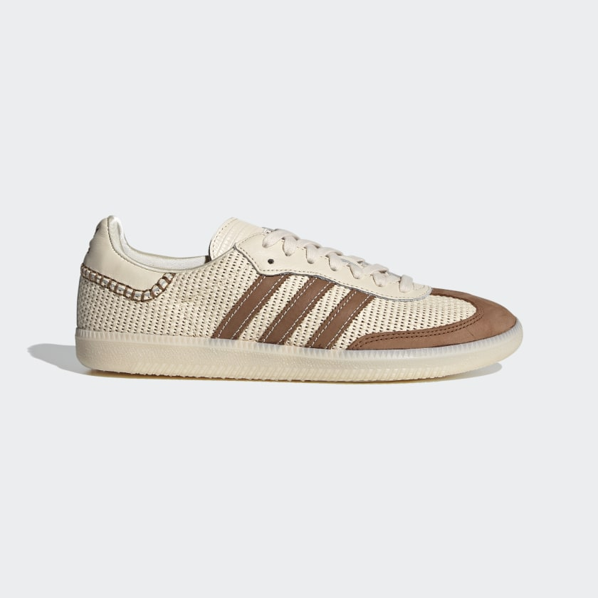 Adidas Wales Bonner Samba - Cream White / Brown / Cream White