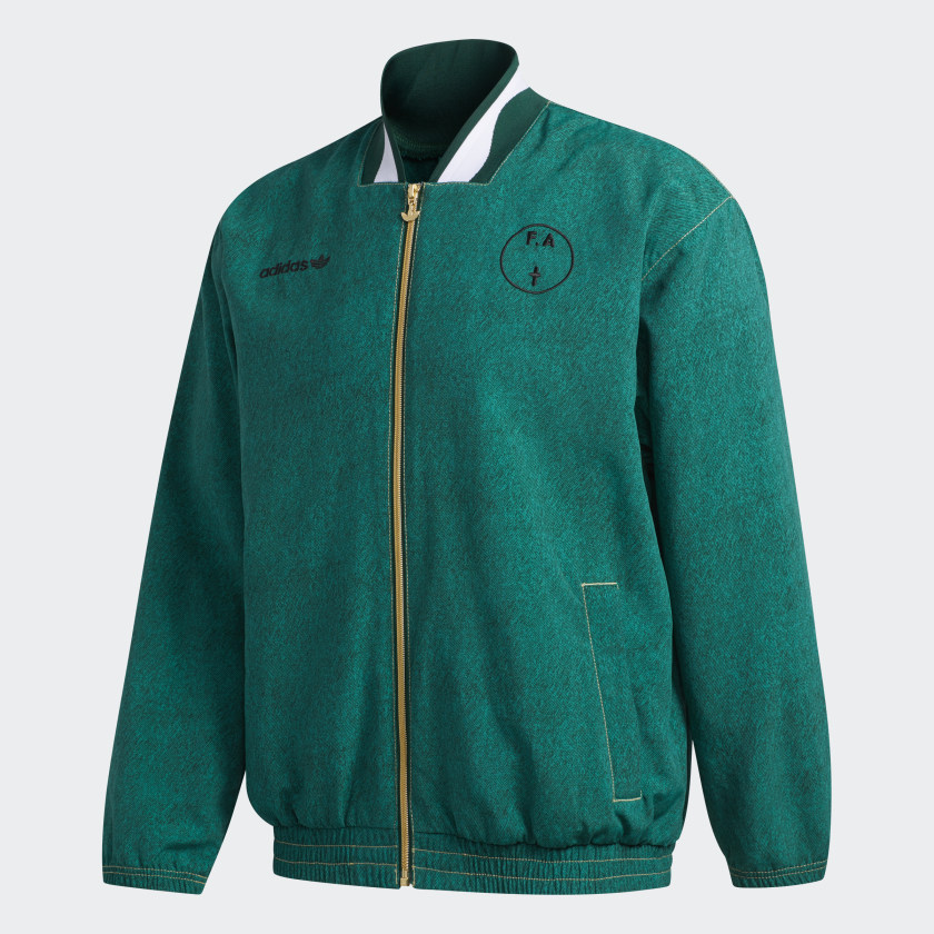 Adidas FA WC94 Jacket - Dark Green / Sub Green