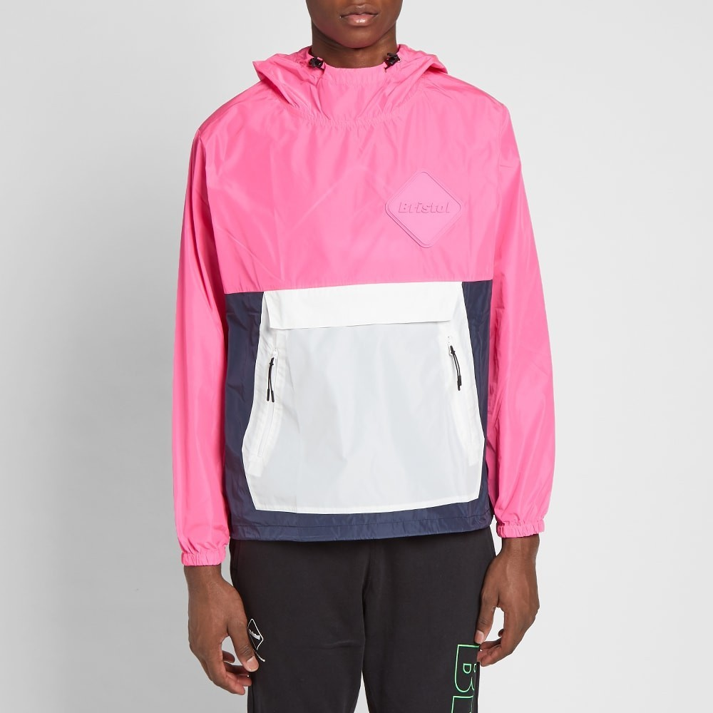 F.C. Real Bristol Packable Anorak - Pink