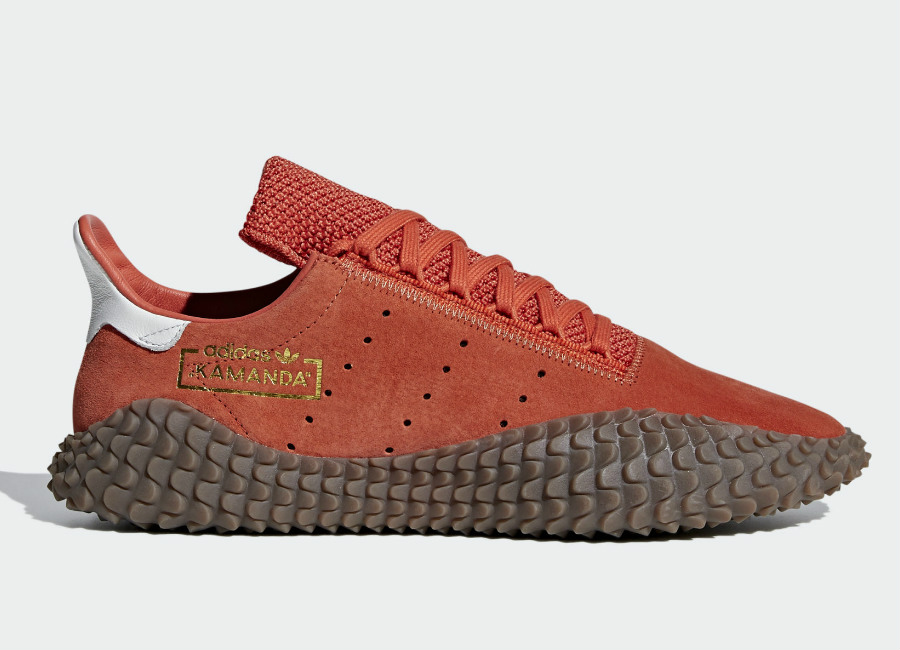 Adidas Kamanda 01 Shoes - Raw Amber / Gold Met / Crystal White