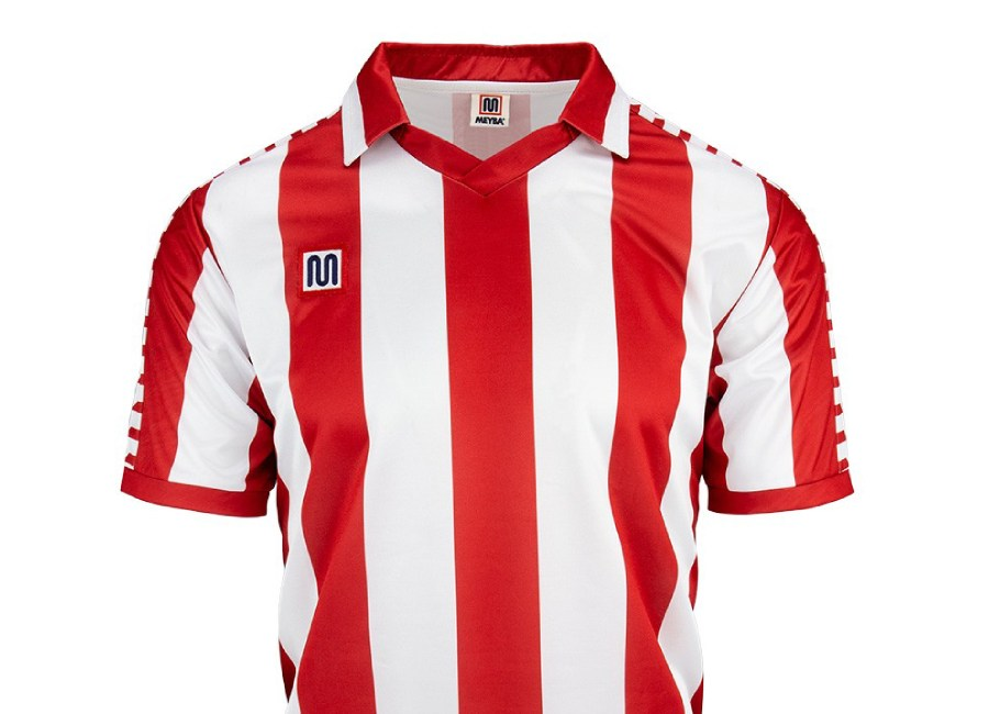Meyba Atletico Home Shirt 1980-1981 - Red #atleti