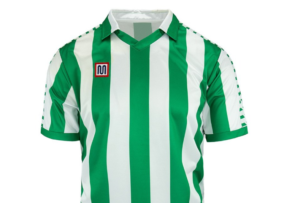 Meyba Betis Home Shirt 1980-1981 - Green #RealBetis