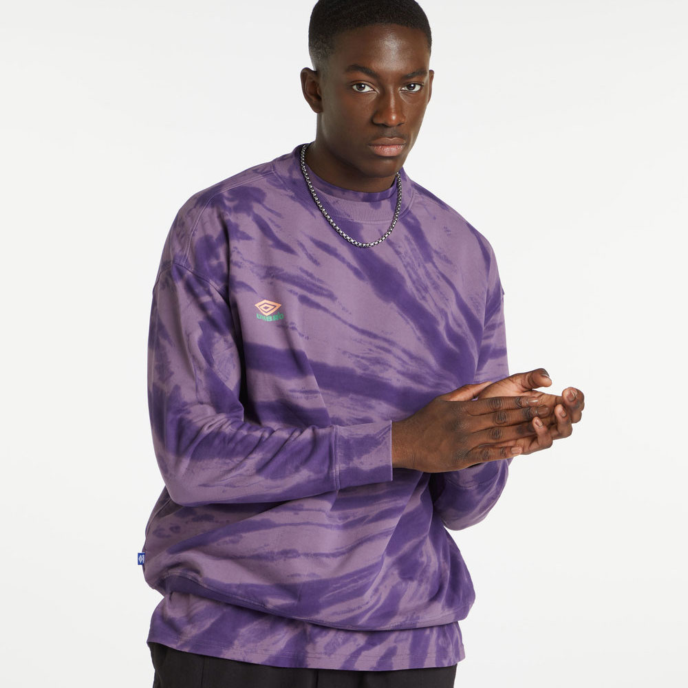 Umbro Calidoscope Sweat - Dusk / Heliotrope / Gelato / Aqua Mint