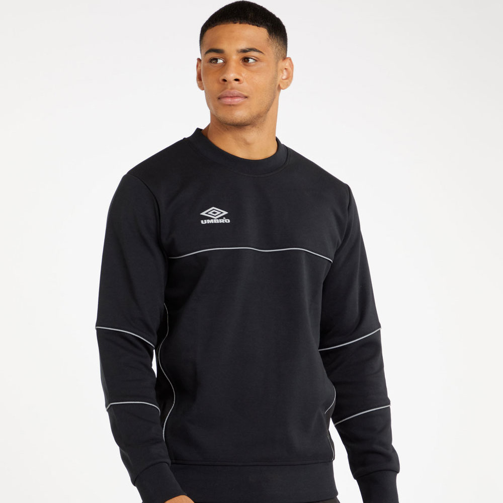 Umbro Frame Crew Sweat - Black