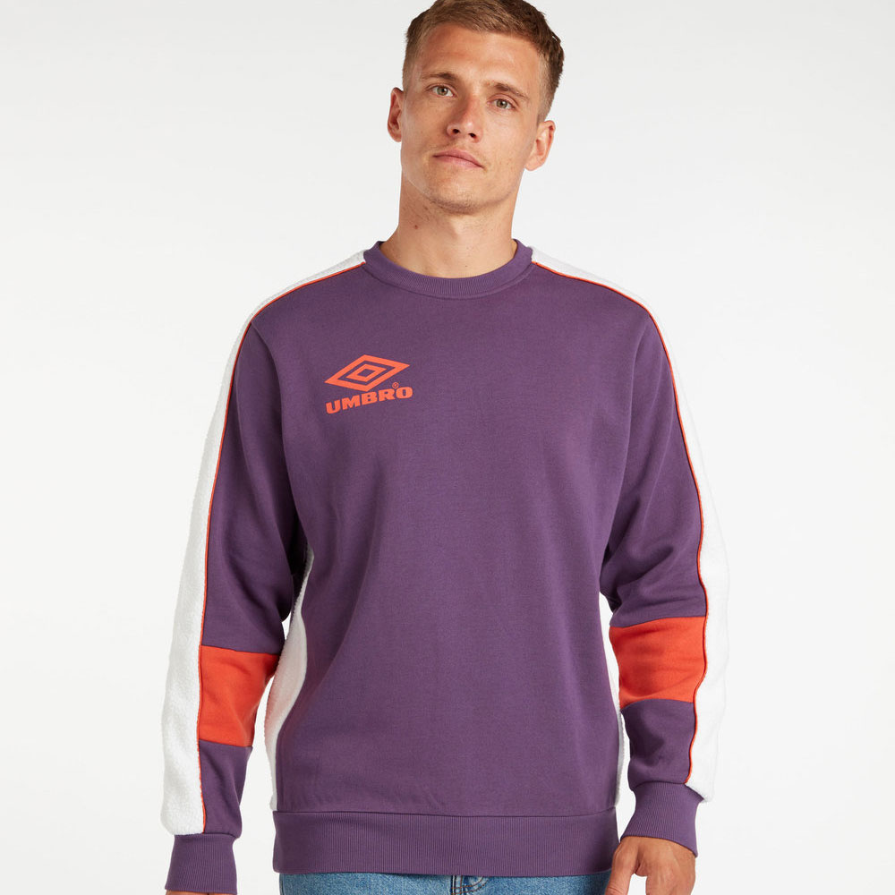 Umbro Infinity Crew Sweat - Cosmos / Haze / Fig
