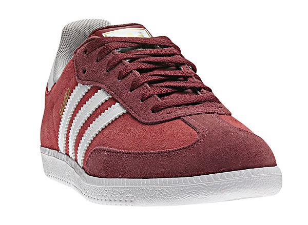 Adidas Samba - Mars Red / White / Uni Red