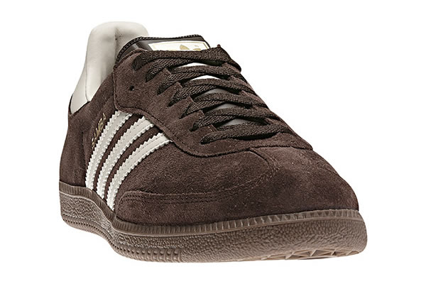 Adidas Samba - Mustang Brown / Metallic Gold / Bliss