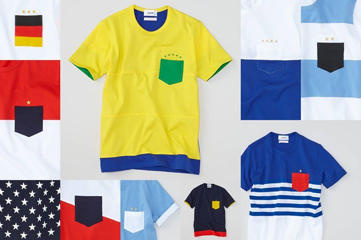 In celebration of the upcoming tournament in Brazil, Aloye have collaborated with Wong Wong for an exclusive t-shirt capsule collection for the World Cup.