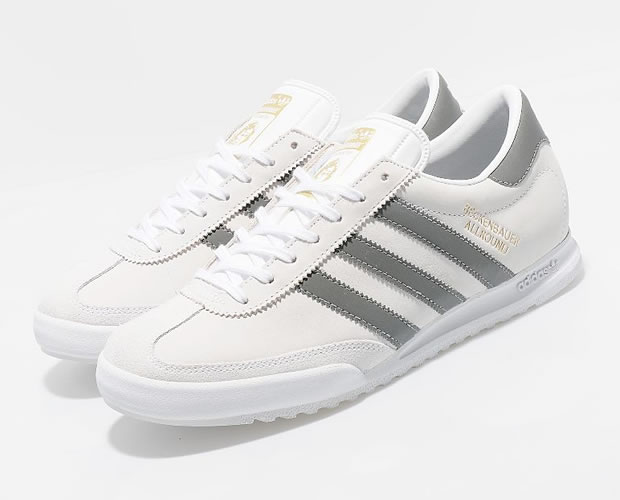 adidas Beckenbauer Allround - White/Shade/Grey/Gold
