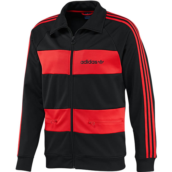 Adidas Beckenbauer Track Suit - Legend Ink / Hi-Res Orange