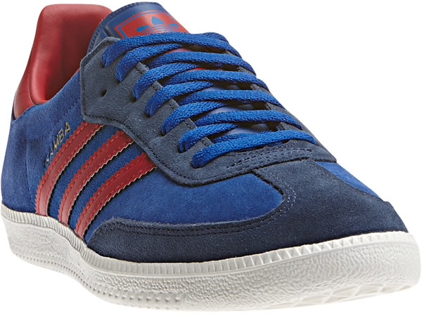 adidas Samba - Collegiate Royal / St Dark Slate / University Red