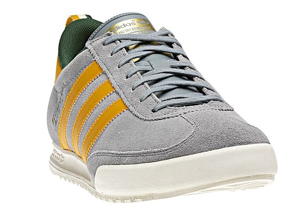 Adidas Beckenbauer - Grey / Craft Gold / Green