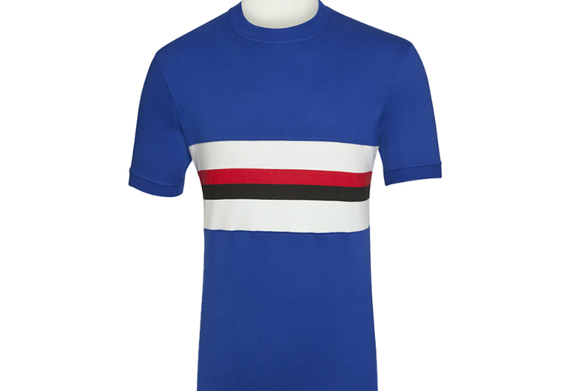 93    Campo Empire Jersey   Sampdoria   Royal  Old White  Black  Redcategoryfootball ShirtsTitleCamp