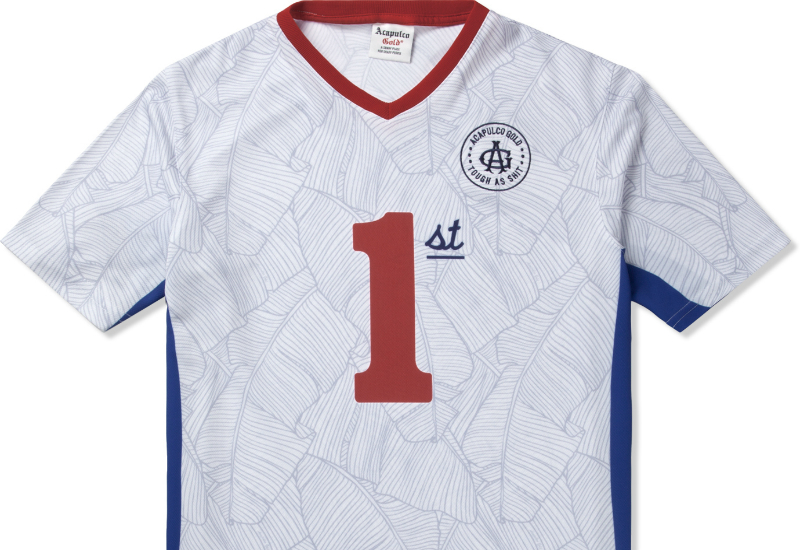 Acapulco Gold First Team Soccer Jersey White