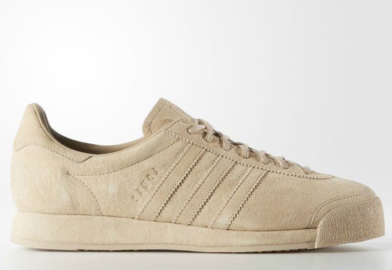 Adida Samoa Vintage Pigskin Shoes St Pale Nude St Pale Nude Legacy White