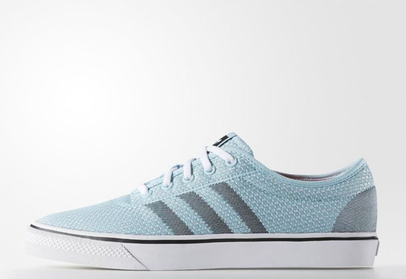 Adidas Adi Ease Woven Shoes Blush Blue Core Black Solar Red