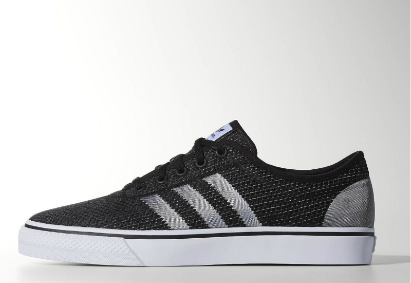 Adidas Adi Ease Woven Shoes Core Black White Solar Red