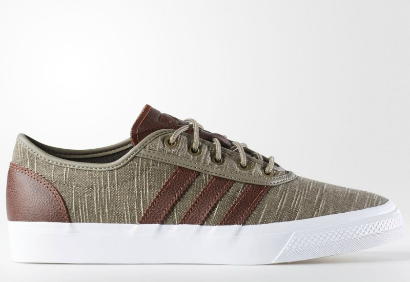 Adidas Adiease Classified Shoes Simple Brown Auburn White