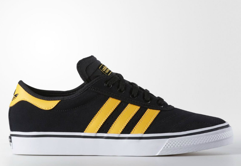 Adidas Adiease Premiere Shoes Core Black Solar Gold White
