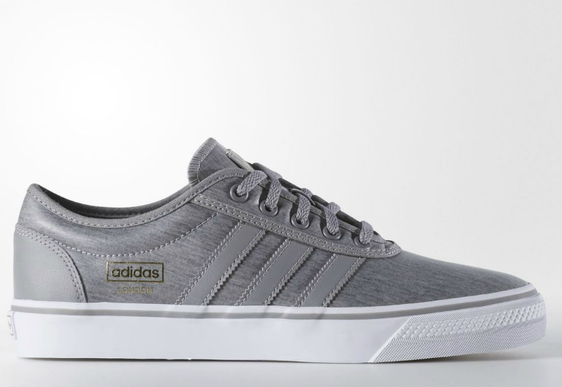 Adidas Adiease Shoes Solid Grey White