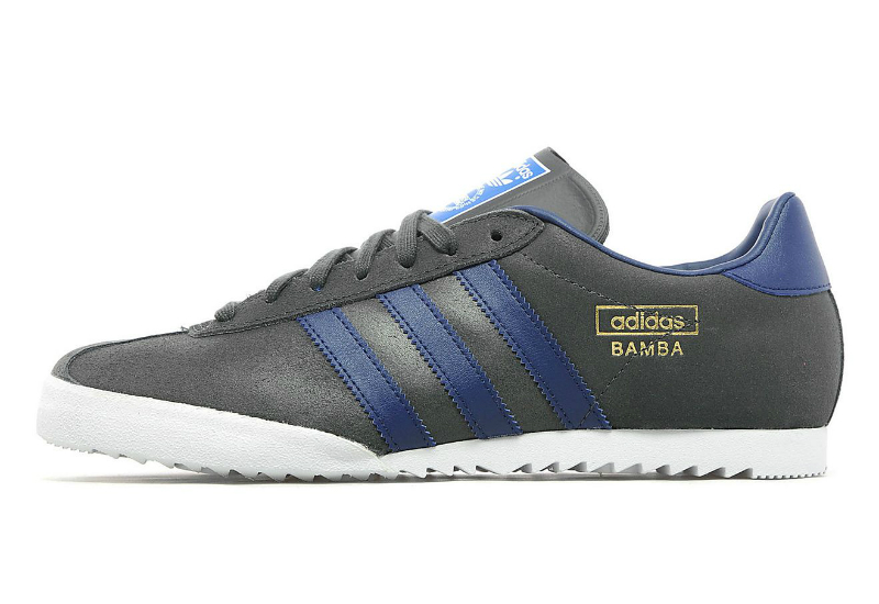 Adidas Bamba Shoes Solid Grey Navy