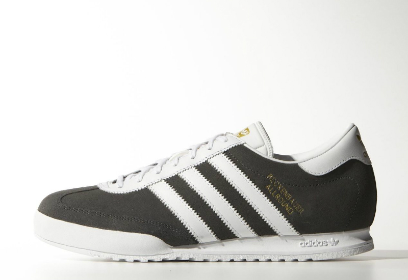 Adidas Beckenbauer Shoes Dgh Solid Grey Ftwr White Gold Met