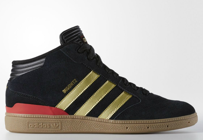 Adidas Busenitz Pro Mid Shoes Core Black
