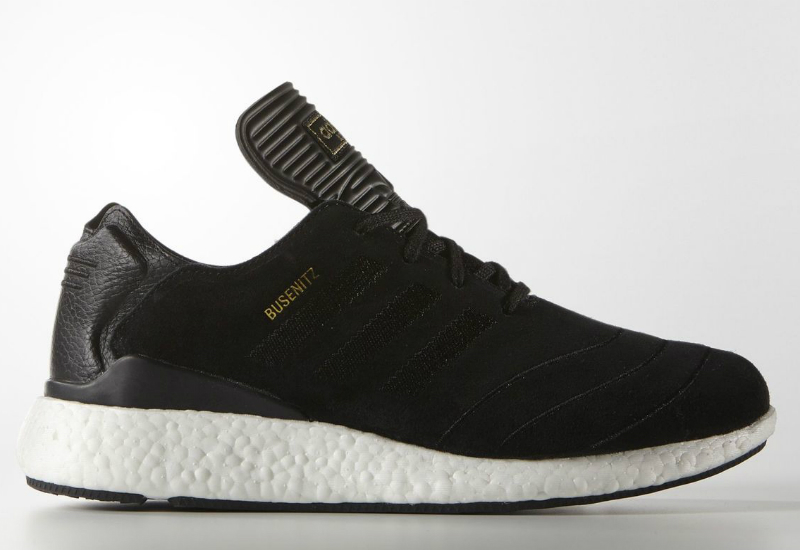 Adidas Busenitz Pure Boost Shoes Core Black