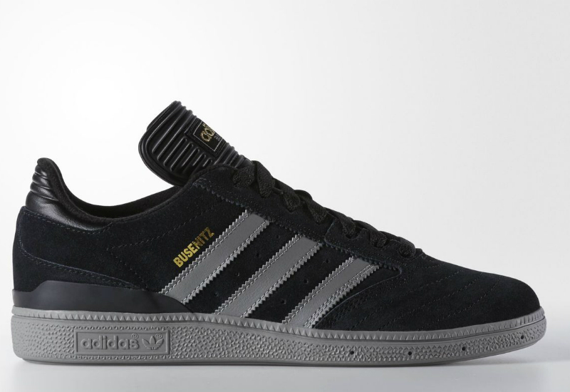 Adidas Busenitz Shoes Core Black Solid Grey Gold Met