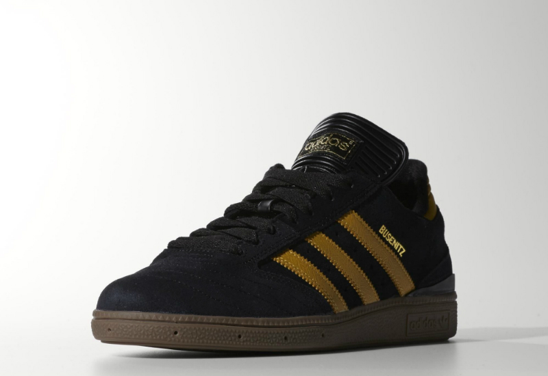 Adidas Busenitz Shoes Core Black Spice Yellow Gum