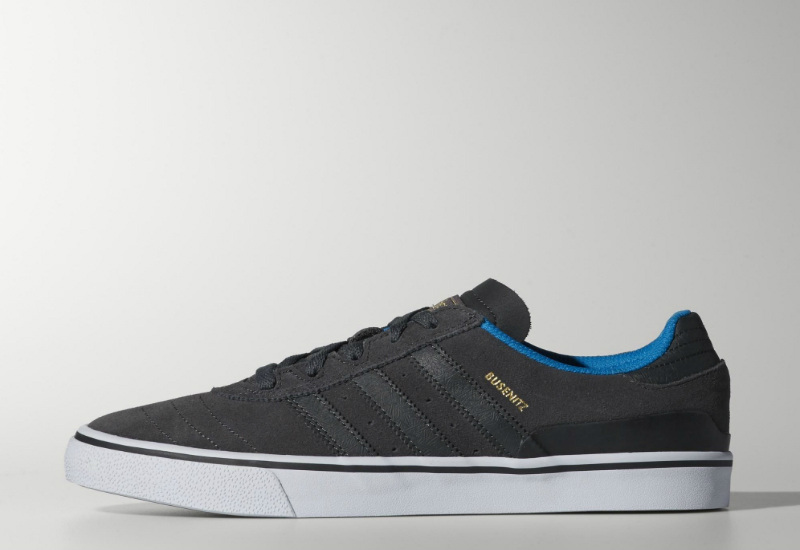 Adidas Busenitz Vulc Shoes Dgh Solid Grey Dgh Solid Grey Solar Blue