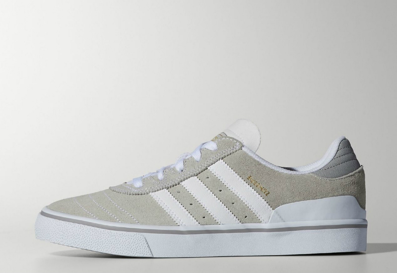 Adidas Busenitz Vulc Shoes White Ftw Running White Multi Solid Grey