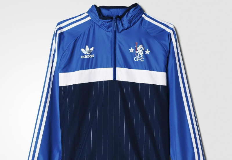 Adidas Chelsea Fc Windbreaker Collegiate Navy Dark Royal